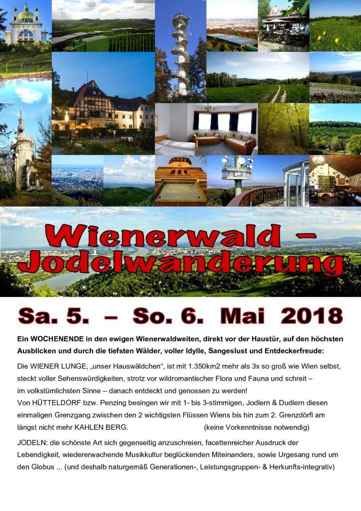 Wienerwald-Jodelwanderung 2018