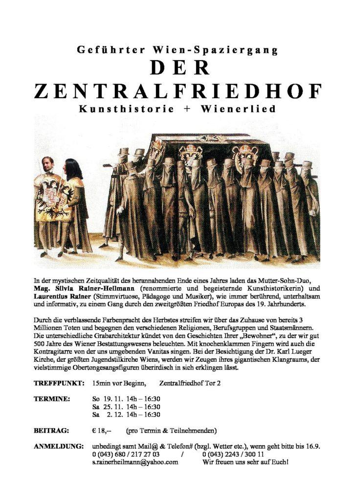 DER ZENTRALFRIEDHOF 2017