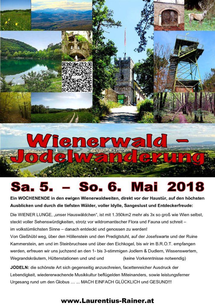 Wienerwald-Jodelwanderung 2018 NEU
